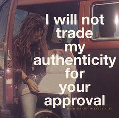 my authenticity