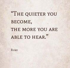 rumi listen
